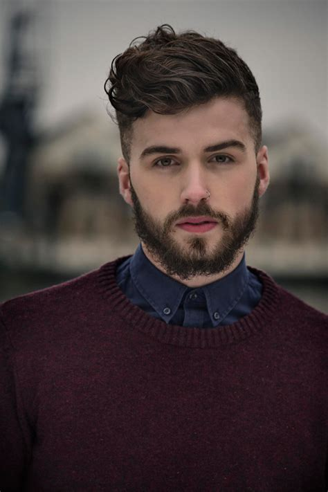 HD wallpapers hairstyle for oblong face guys