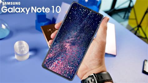 samsung galaxy note 10 will a stunning display youtube