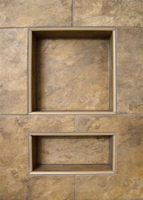 tiled shower shelf ideas noble wide combo niche 304 noble company