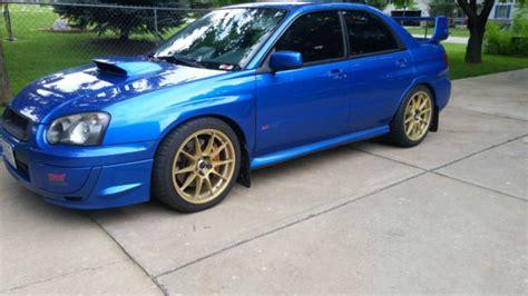 Rally Blue Wrx by 2005 Subaru Wrx Sti World Rally Blue 19 5k W 104k