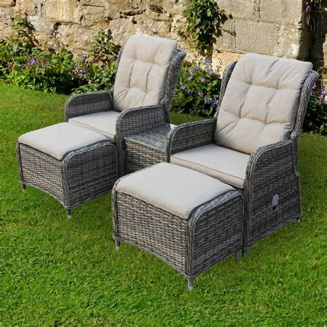Garden Furniture Chairs by Newbury Reclining Chairs Footstools Table Garden