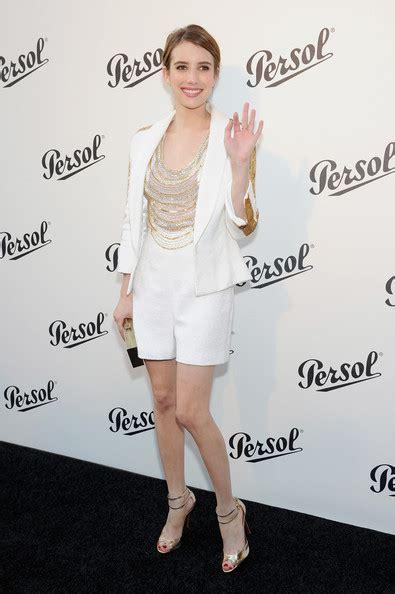 Emma Roberts Romper - Emma Roberts Clothes Looks - StyleBistro