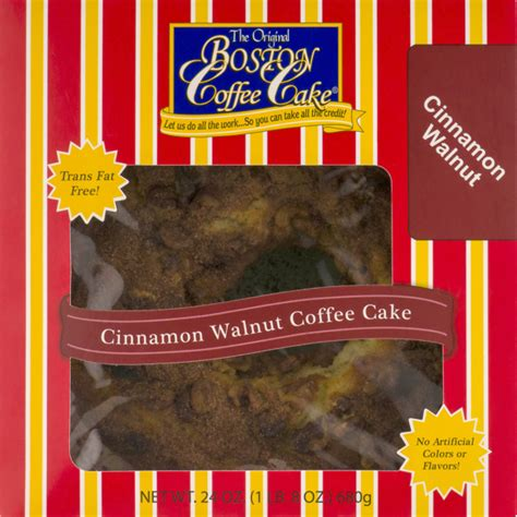 On the street of willow street and street number is 351. The Original Boston Coffee Cake Cinnamon Walnut (24 oz) - Instacart