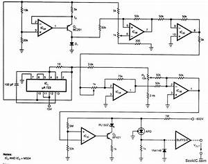Diode Sensor For Lasers - Sensor Circuit