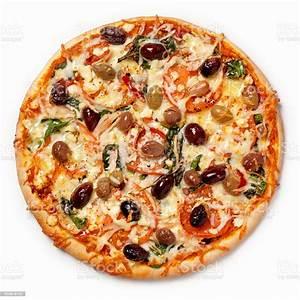 Mediterranean Pizza Stock Photo - Download Image Now - iStock