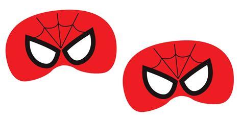 Mascara Do Homem Aranha Para Colorir E Imprimir Imagens