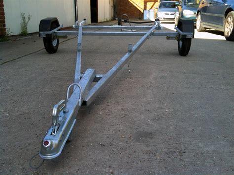 Scow Launching Trolley by Trolleys Trailers Claridge Boats