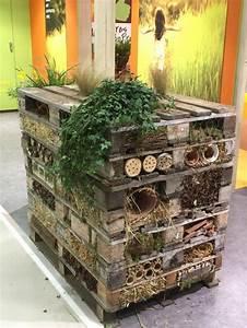 Abri à Insectes : tour abri insectes en palettes salon international de l ~ Premium-room.com Idées de Décoration
