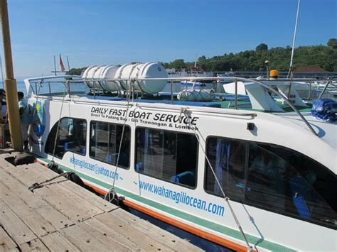 Fast Boat Gili Review by Fast Boat To Gili Trawangan Review Of Wahana Gili Ocean
