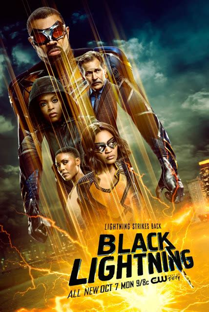 A new character, ani, will be introduced in season 3. Black Lightning - Season 3 - Teaser Promo, Promotional Poster + New Suit