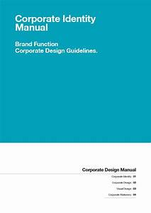 Corporate Design Manual Guide By Egotype