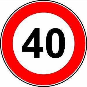 6 Km H Schild : geschwindigkeit 40 km h ~ Jslefanu.com Haus und Dekorationen