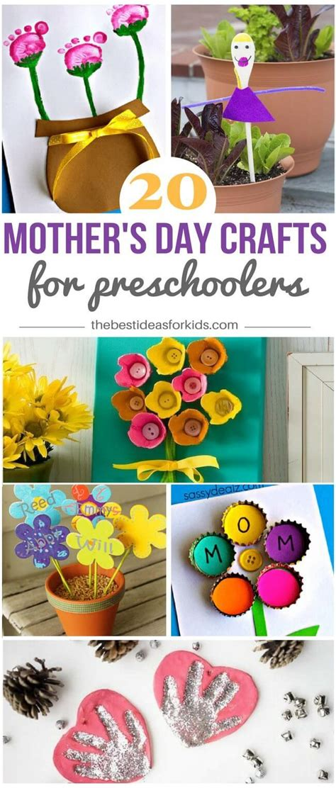 mothers day crafts  preschoolers mothers day
