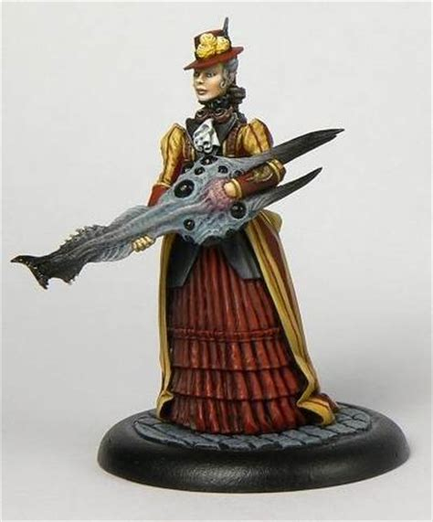 steampunk figurines  mauser earth boing boing