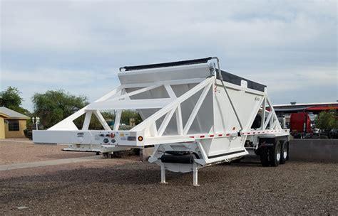 xl specialized belly dump trailer capacity  cu yd