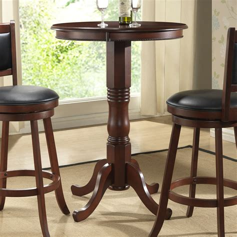 round bar table and chairs round pub tables and chairs marceladick com