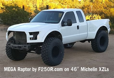 Raptor F 250 by What F 150 Raptor Here S The F 250 Megaraptor