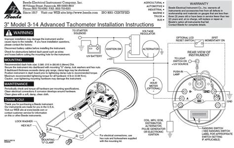 marine tachometer wiring diagram wiring diagrams