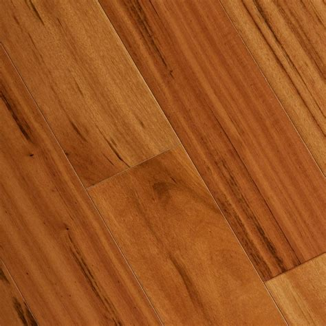 tigerwood floors home legend tigerwood 3 8 in thick x 5 in wide x varying length click lock exotic hardwood