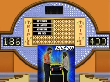 family feud powerpoint game show template  christopher