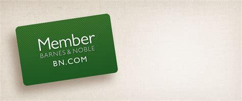 barnes and noble credit card b n renew membership