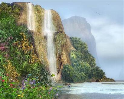 Waterfall Desktop Animated Backgrounds Screensavers Moving Wallpapers