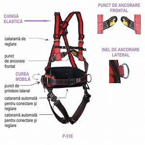 Safety Harness With 5 Anchoring Points - P-51e Type