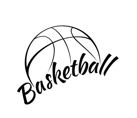 basketball clipart black and white free black and white clip library basketball