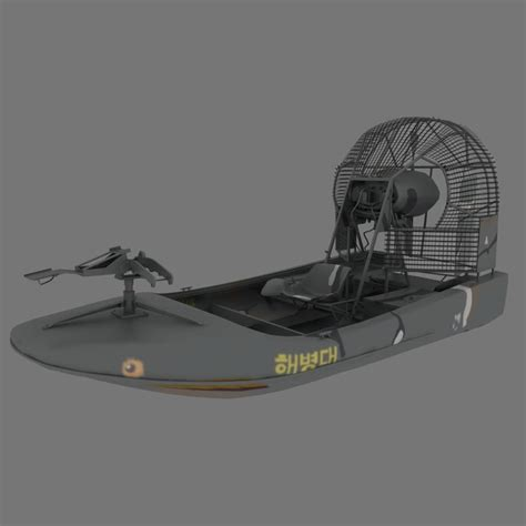 Model Airboats by War Airboat Relic 3d Model
