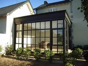 Verriere En Bois En Kit : veranda verriere pr sentation de verri re v randa en acier ~ Dailycaller-alerts.com Idées de Décoration