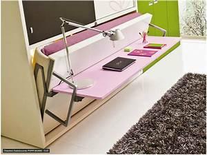 Bureau Ado Fille : cuisine chambre ado garcon avec lit coffres bureau ~ Melissatoandfro.com Idées de Décoration