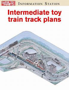 Intermediate Toy Train Track Plans
