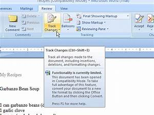 how to accept or reject changes in word 2007 documents With word documents for dummies