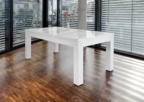 designer esstisch ausziehbar salesfever esstisch 180x90 cm ausziehbar weiß hochglänzend luke kaufen otto