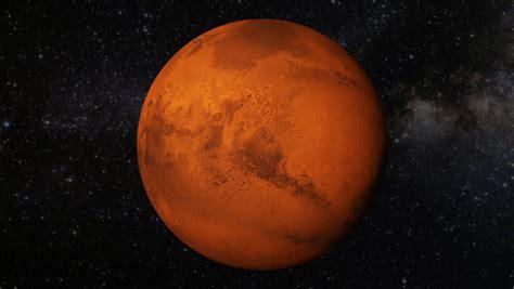 Animated Planet Wallpaper - mars animation stock footage 4810832