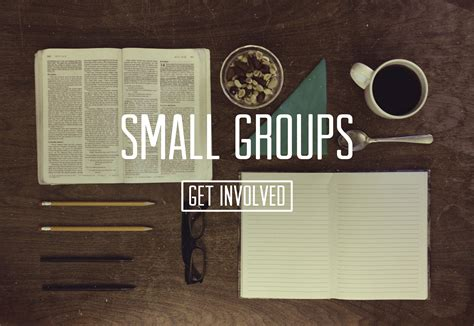 New Small Group Studies Have Begun Pleasant Valley