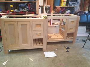 Ana white bathroom vanities diy projects for Making a bathroom cabinet