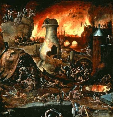 7 Days To Die Wallpaper 13 Renaissance Paintings Of Hell That Are Deeply Disturbing
