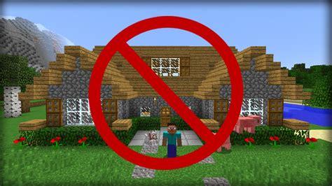 minecraft  ways  hide  house  friends youtube