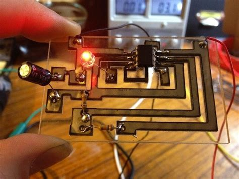 Making Circuit Boards With Low Wattage Laser Cutter Make