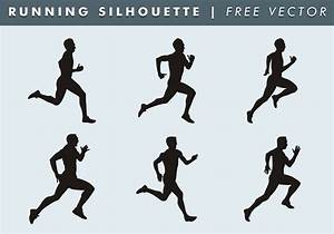 Running Silhouette Free Vector - Download Free Vector Art ...