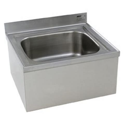 stainless steel floor mounted mop sink space saver and