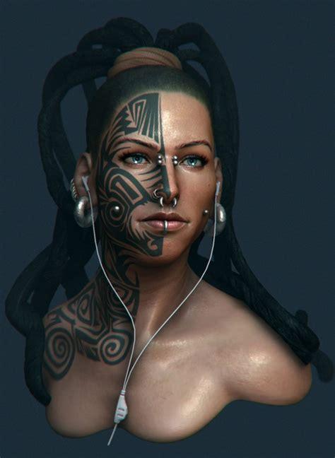 beautiful  woman character designs