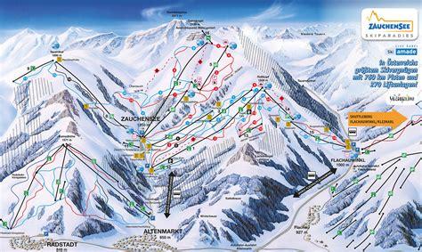 bergfex pistenplan zauchensee flachauwinkl ski amade