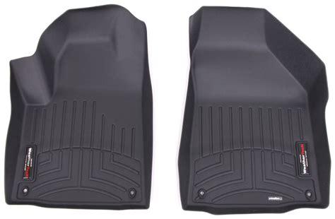 weathertech floor mats jeep 2017 jeep cherokee weathertech front auto floor mats black