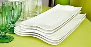 Service Assiette Design : assiette rectangulaire simple et moderne westwing ~ Teatrodelosmanantiales.com Idées de Décoration