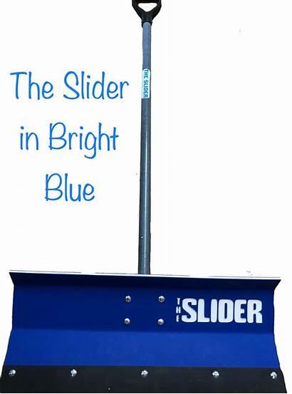 Edge Cutting Snow Pusher Shovel Poly Slider