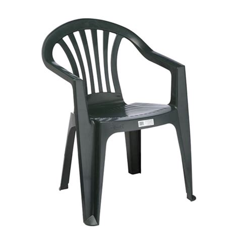 pipee plastic stackable chair with arms