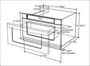 Wall Oven Cabinets by How To Install A Microwave Drawer
