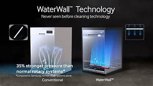 Samsung Waterwall Dishwasher - 2014 Lifestyle Video